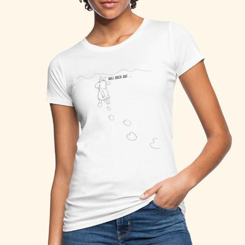 Schafbock: Null Bock auf - schwarz - Frauen Bio-T-Shirt