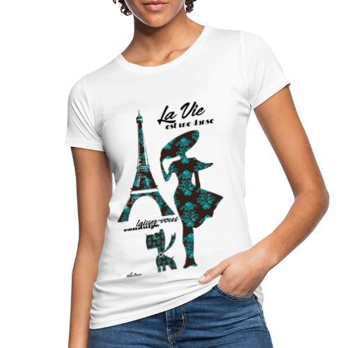 La Vie est une danse - T-shirt ecologica da donna