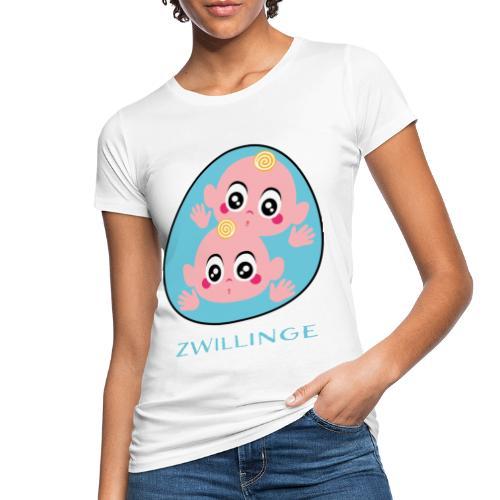 Tolles Geschenk für Zwillinge - Frauen Bio-T-Shirt