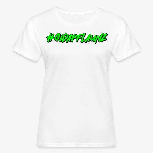 #oidapflaunz Klimakrise fridays for future demo - Frauen Bio-T-Shirt