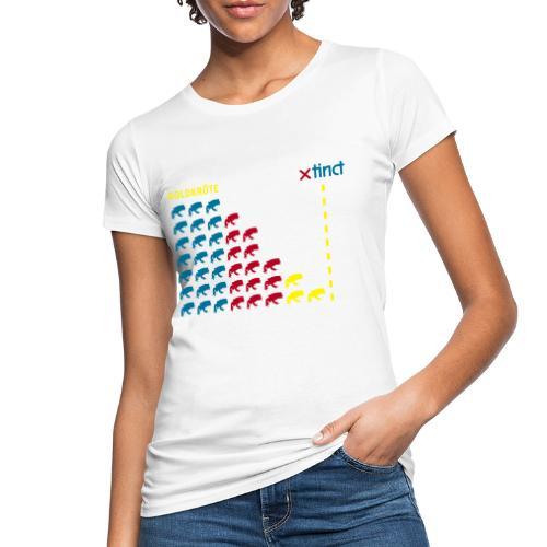 xtinct spreadshirtgoldkroetediagramm 200 - Frauen Bio-T-Shirt