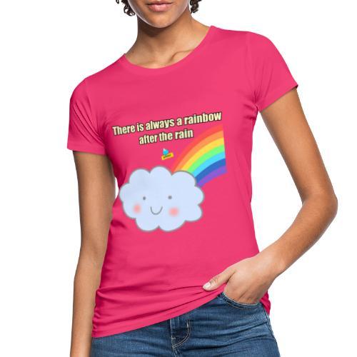 Bubbly! Rainbow - T-shirt ecologica da donna