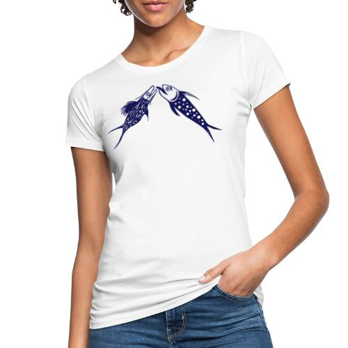 Pesci linguae - T-shirt ecologica da donna