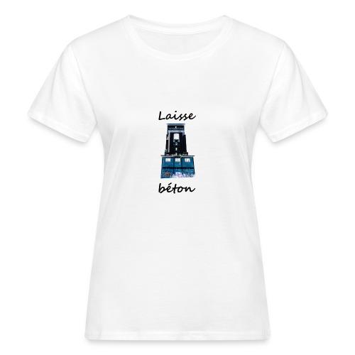 laisse_b--ton-png - T-shirt bio Femme