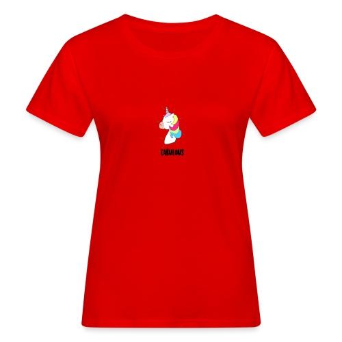 Fabulous Unicorn - T-shirt bio Femme