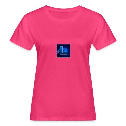 Logo GamenMetLucas - Vrouwen Bio-T-shirt