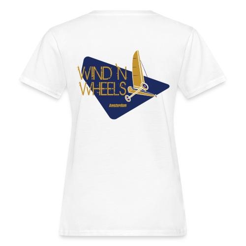 logobluegoldww big png - Vrouwen Bio-T-shirt
