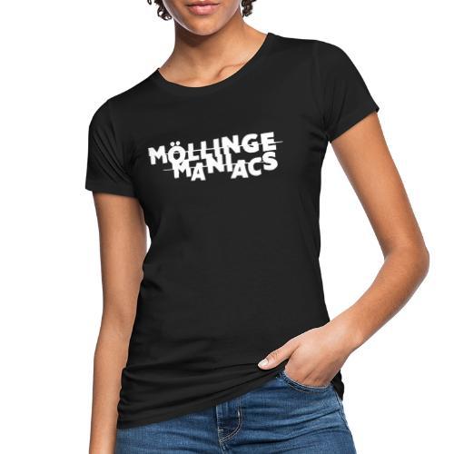 Möllinge Maniacs Vit logga - Ekologisk T-shirt dam