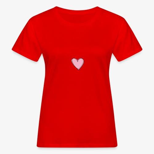 Pink Love Tee - Vrouwen Bio-T-shirt