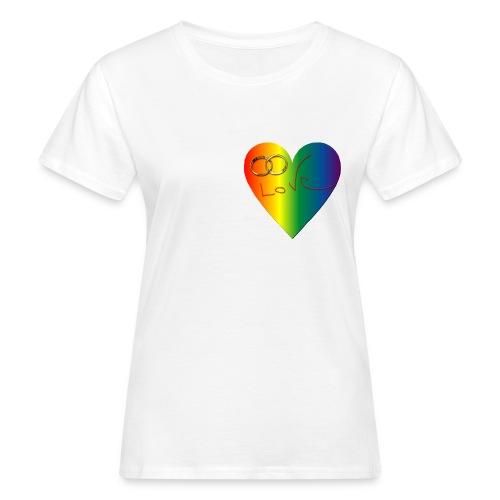 coeurcouleurlove - T-shirt bio Femme