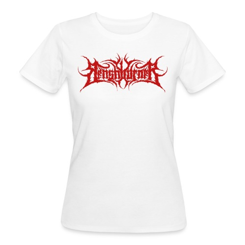 BM logo red - Frauen Bio-T-Shirt