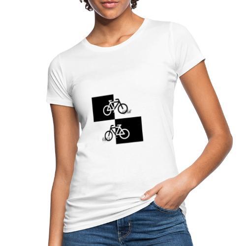 Ich liebe mein Fahrrad T-Shirt für Biker - Frauen Bio-T-Shirt