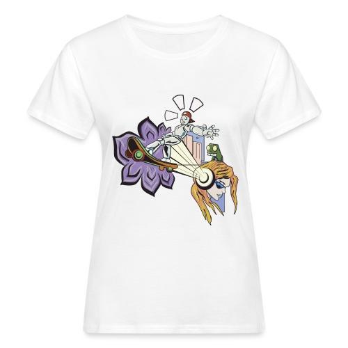 Spring Doodle - Vrouwen Bio-T-shirt