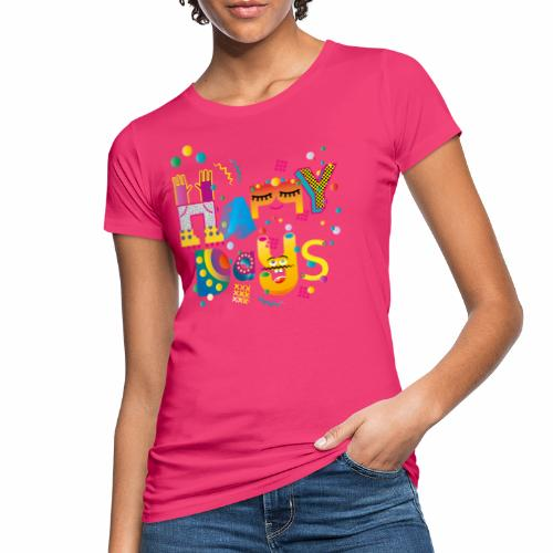 Happy happy days - Women's Organic T-Shirt