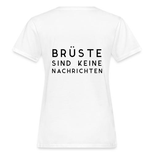 Keine Nachrichten Vektor - Frauen Bio-T-Shirt