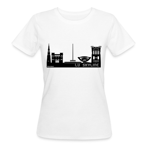 Lu skyline de Terni - T-shirt ecologica da donna