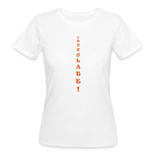 Chocolate - T-shirt ecologica da donna