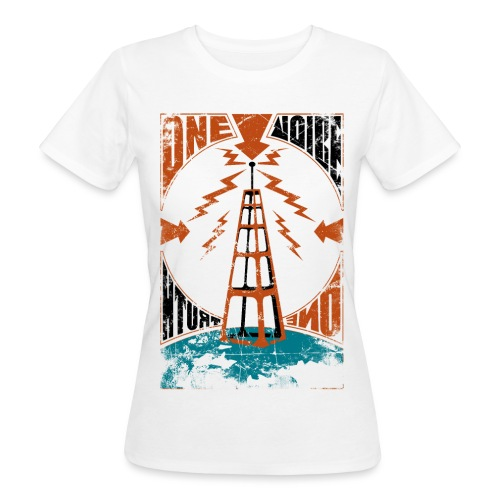 One Voice One Truth - T-shirt ecologica da donna