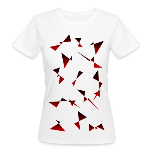 T4Y Triangle Red - Frauen Bio-T-Shirt