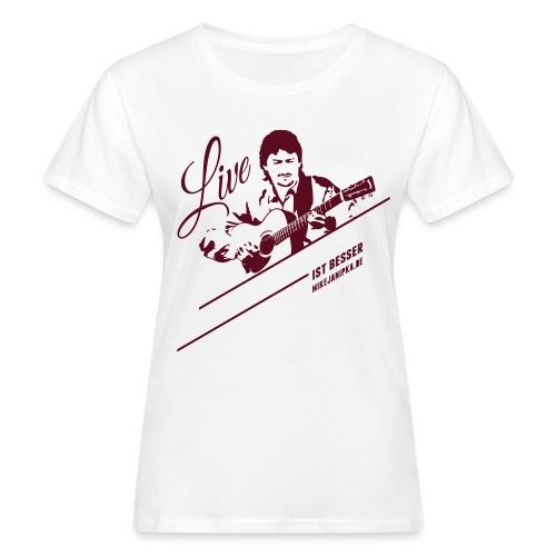 Janipka Shirt02 Flat - Frauen Bio-T-Shirt
