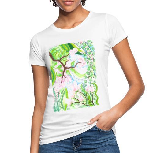 Äppelblom - Ekologisk T-shirt dam