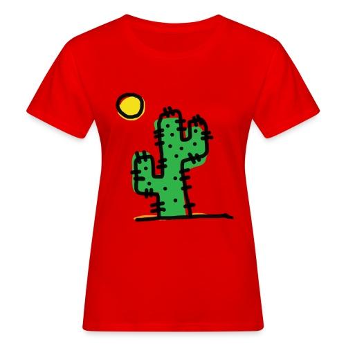 Cactus single - T-shirt ecologica da donna