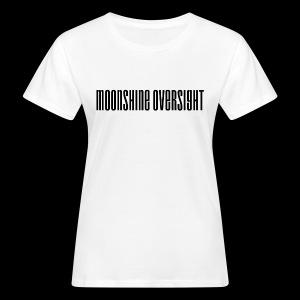 Moonshine Oversight logo - T-shirt bio Femme