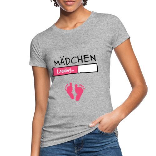 Mädchen loading // Schwangerschaft T-Shirt - Frauen Bio-T-Shirt