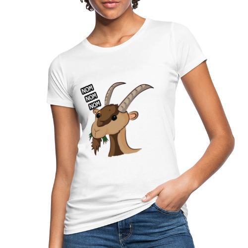 Lo stambecco puccioso - T-shirt ecologica da donna
