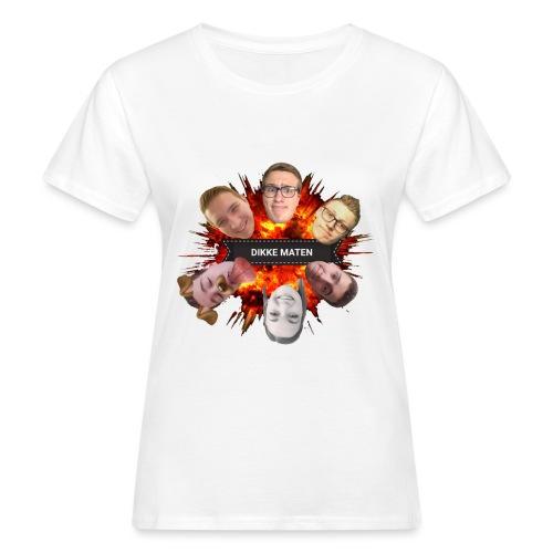 Dikke Maten boem - Vrouwen Bio-T-shirt