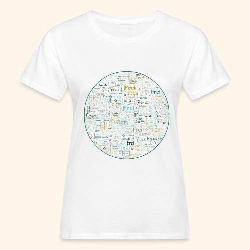 Ich bin - Frauen Bio-T-Shirt