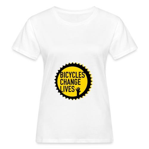 BCL Shirt Back White - Women's Organic T-Shirt
