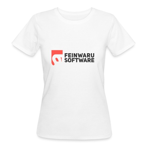 Feinwaru Full Logo - Women's Organic T-Shirt
