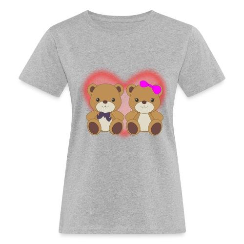 Orsetti con cuore - T-shirt ecologica da donna