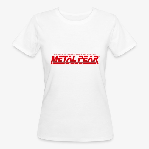 Metal Pear Solid: Tactical Greengrocer Action - Women's Organic T-Shirt
