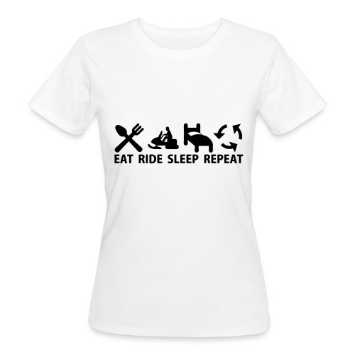 Snöskoter (Sled) - Ekologisk T-shirt dam