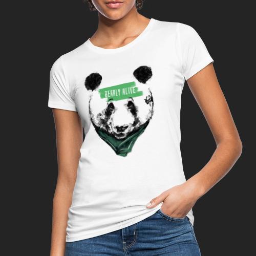 Panda bearly alive - T-shirt bio Femme