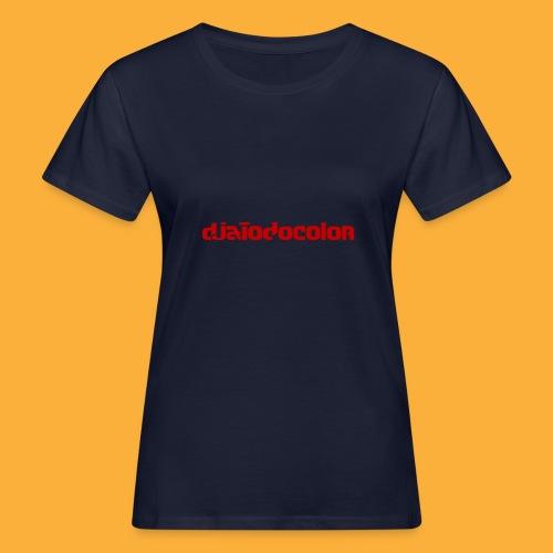 DJATODOCOLOR LOGO ROJO - Camiseta ecológica mujer