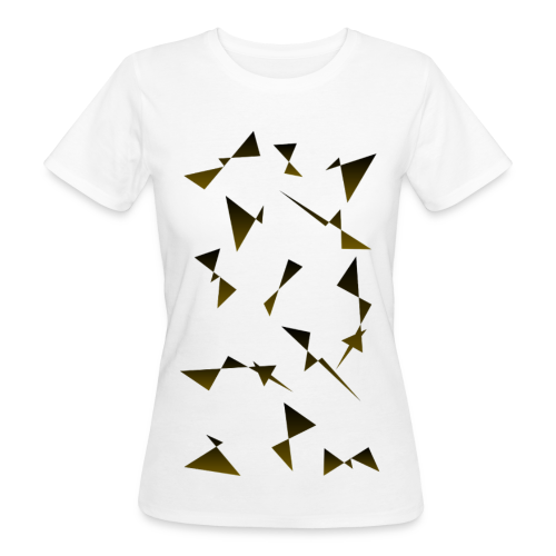T4Y Triangle Gold - Frauen Bio-T-Shirt