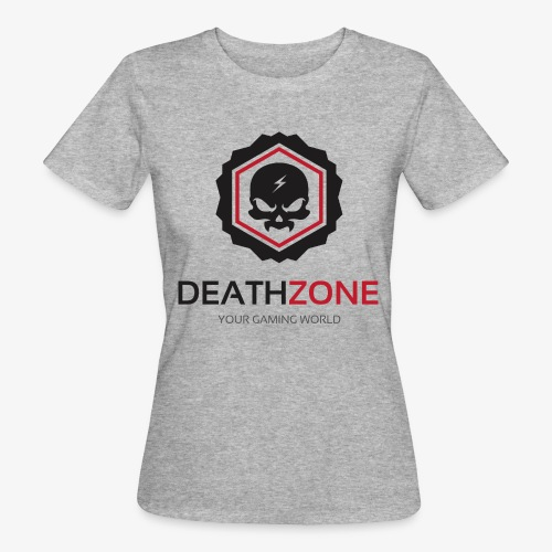 DeathZone Logo Avatar - Ekologiczna koszulka damska