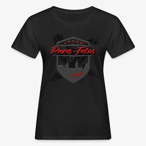 Paris Wappen - Frauen Bio-T-Shirt