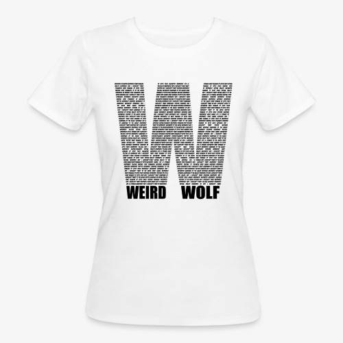 The Big W (Black) - Women's Organic T-Shirt