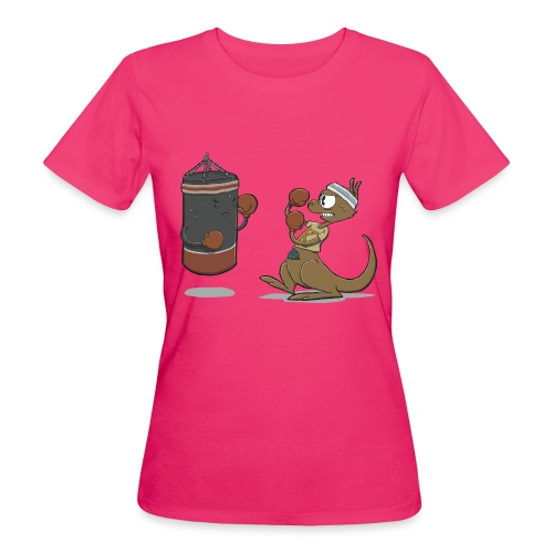 Boxkampf - Frauen Bio-T-Shirt