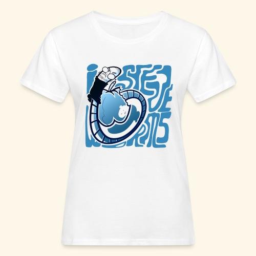i STEVE WORMS - Women's Organic T-Shirt