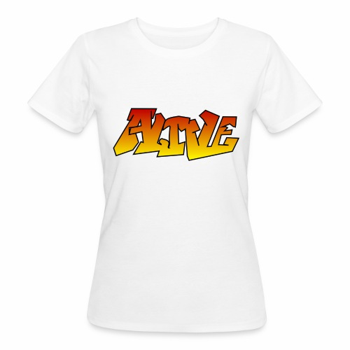 ALIVE CGI - Women's Organic T-Shirt