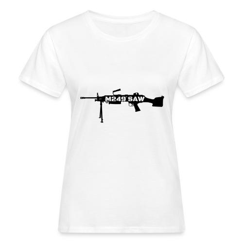 M249 SAW light machinegun design - Vrouwen Bio-T-shirt