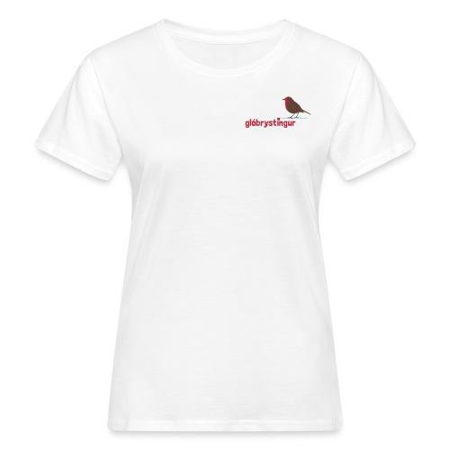 rotkehlchen n - Frauen Bio-T-Shirt
