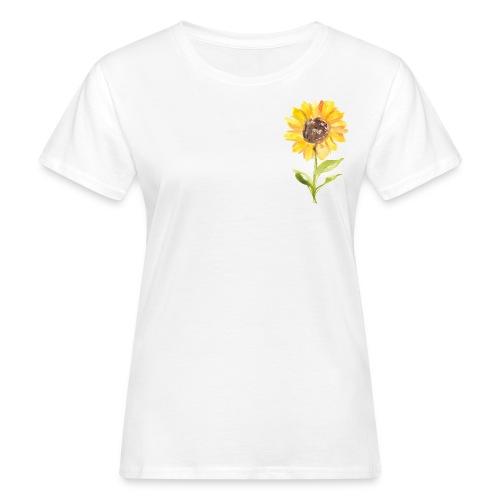 Sonnenblume Sunflower - Frauen Bio-T-Shirt