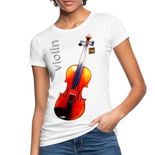 Violín - Women's Organic T-Shirt