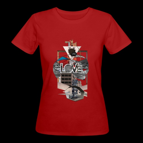LOVE - Frauen Bio-T-Shirt